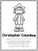 Christopher Columbus Coloring Book worksheets.  Preschool-
