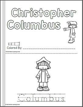 Christopher Columbus Coloring Pages