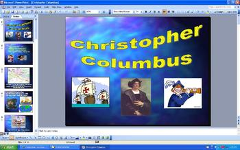 Christopher Columbus - Columbus Day - PowerPoint