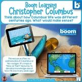 Christopher Columbus Common Sense Thinking BOOM Cards