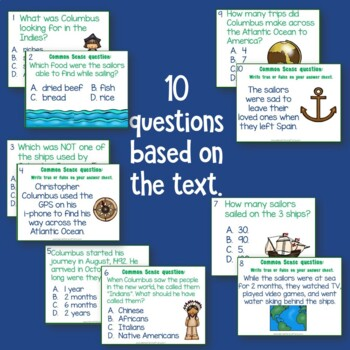 Christopher Columbus: Common Sense for Active Learners