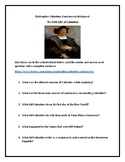 Christopher Columbus Controversy Webquest + Hero or Villian Add on Writing!
