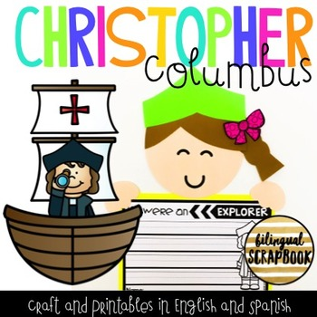 Christopher Columbus Craft & Printables {English and Spanish}