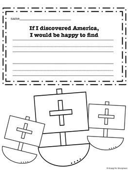 Christopher Columbus Craft and Writing