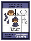 Christopher Columbus - Cut & Paste Craft Super Easy for Pr
