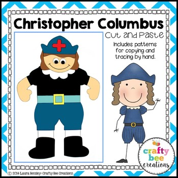 Christopher Columbus Cut and Paste