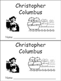 Christopher Columbus Day- Early Reader Kindergarten and First Grade