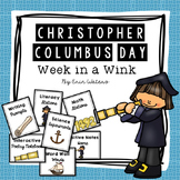 Christopher Columbus Day Bundle [Math, Literacy, Science, Poetry, & More!]