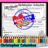 Christopher Columbus Day Activity Poster