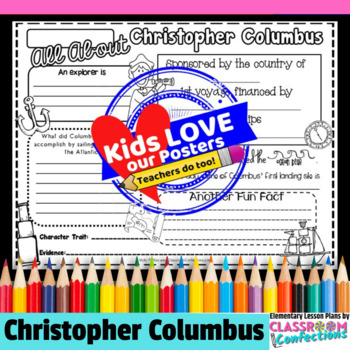 Columbus Day Activity Poster