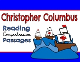 Christopher Columbus Day Reading Comprehension Passage & Questions