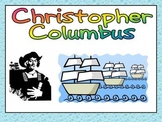 Christopher Columbus Day- Shared Reading PowerPoint Kindergarten and First Grade
