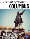 Christopher Columbus Nonfiction Differentiated Reading Passages & Questions