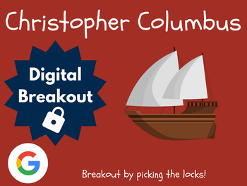 Christopher Columbus - Digital Breakout! (Escape Room, Scavenger Hunt)