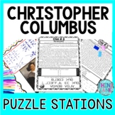 Christopher Columbus ESCAPE ROOM Activity - Columbus Day