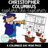 Christopher Columbus {Explore the Explorer} *NO PREP*