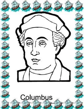 Christopher Columbus Explorer Card