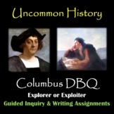 Christopher Columbus: Explorer or Exploiter?  DBQ and writing assignment