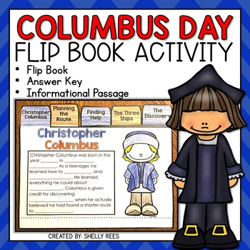 Columbus Day Flip Book