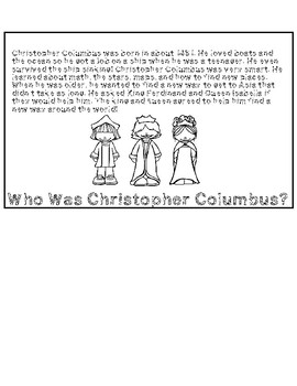 Christopher Columbus Flip Book