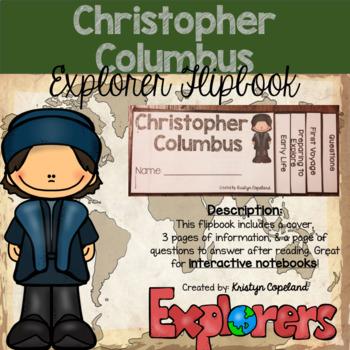 Christopher Columbus Flipbook (Interactive Notebooks