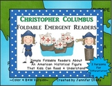 Christopher Columbus Foldable Emergent Readers ~2 Versions~ *Color & B&W*