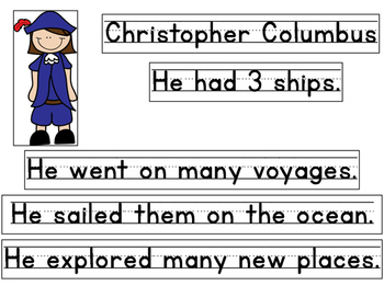 Christopher Columbus For Little Learners!