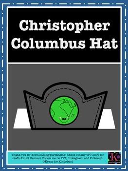 Christopher Columbus Hat: FREEBIE!