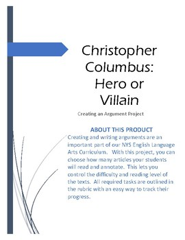 English Essay Samples Christopher Columbus Hero Or Villain Christopher Columbus Hero Or Villain First Day Of High School Essay also Topics For Synthesis Essay Columbus Hero Or Villain Teaching Resources  Teachers Pay Teachers High School Essay Example