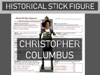 Christopher Columbus Historical Stick Figure (Mini-biography)