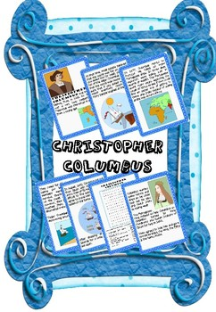 Christopher Columbus Information Display Pack