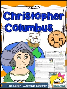 Christopher Columbus Informational Text and Questions