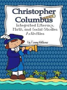 Christopher Columbus Integrated Literacy, Math, and Social Studies Activities
