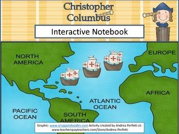 Christopher Columbus Interactive Notebook