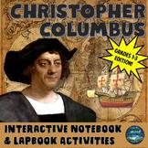Christopher Columbus Interactive Notebook Activities Grades 1-3 Edition