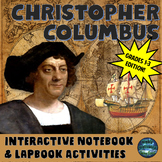 Christopher Columbus Interactive Notebook Activities Grades 1-3 Edition
