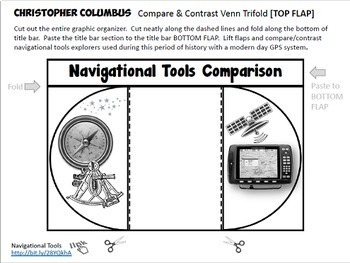 Christopher Columbus Interactive Notebook Activities Grades 4-6 with Test Prep