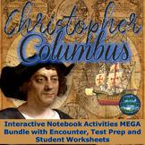Christopher Columbus Interactive Notebook Activities Grades 4-6 w/Test Prep Unit