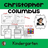 Christopher Columbus - Kindergarten