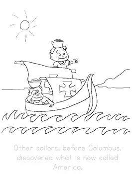 Christopher Columbus (Kindergarten Topic Unit 7)