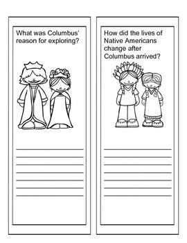 Christopher Columbus Lap Book