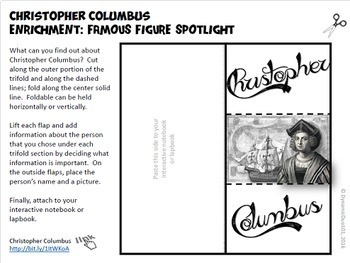 Christopher Columbus Lesson Plans with Interactive Notebook MEGA Bundle