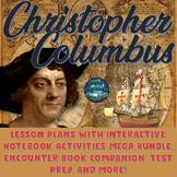 Christopher Columbus Lesson Plans, Interactive Notebook, & Encounter Bundle