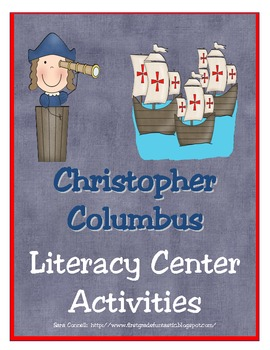 Christopher Columbus Literacy Packet