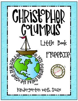 Christopher Columbus Little Book Freebie