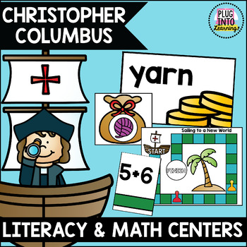 Christopher Columbus Math and Literacy Centers