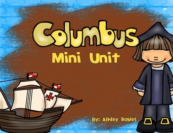 Christopher Columbus Mini Activity Pack