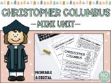 Christopher Columbus/Columbus Day Mini Unit (Printable & Digital)