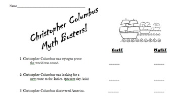 Christopher Columbus Myth Busters