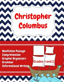 Christopher Columbus: Nonfiction Text, Comprehension Questions and Writing